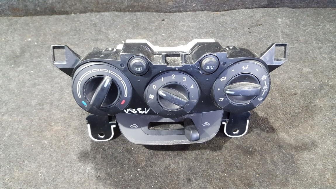 Climate Control Panel (heater control switches) dp981g25 nenustatytas Mazda 2 2003 1.4