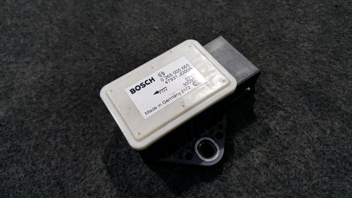 Esp Accelerator Sensor Nissan Qashqai 2007    0.0 0265005665