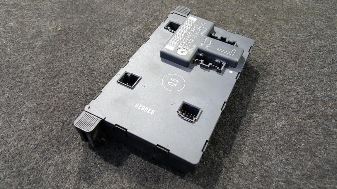 Door control relay Mercedes-Benz C-CLASS 2005    0.0 2038201385