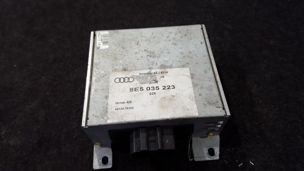 Audio amplifier Audi A4 2001    1.8 8e5035223