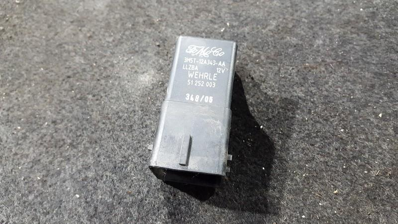 Zvakiu Pakaitinimo rele 3m5t12a343aa 3m5t-12a343-aa Volvo V50 2005 2.4