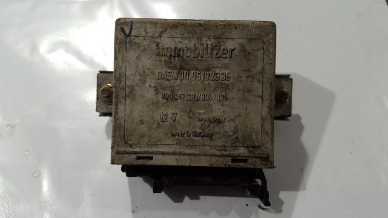 Immobiliser ECU Daewoo Espero 1998    2.0 96192336