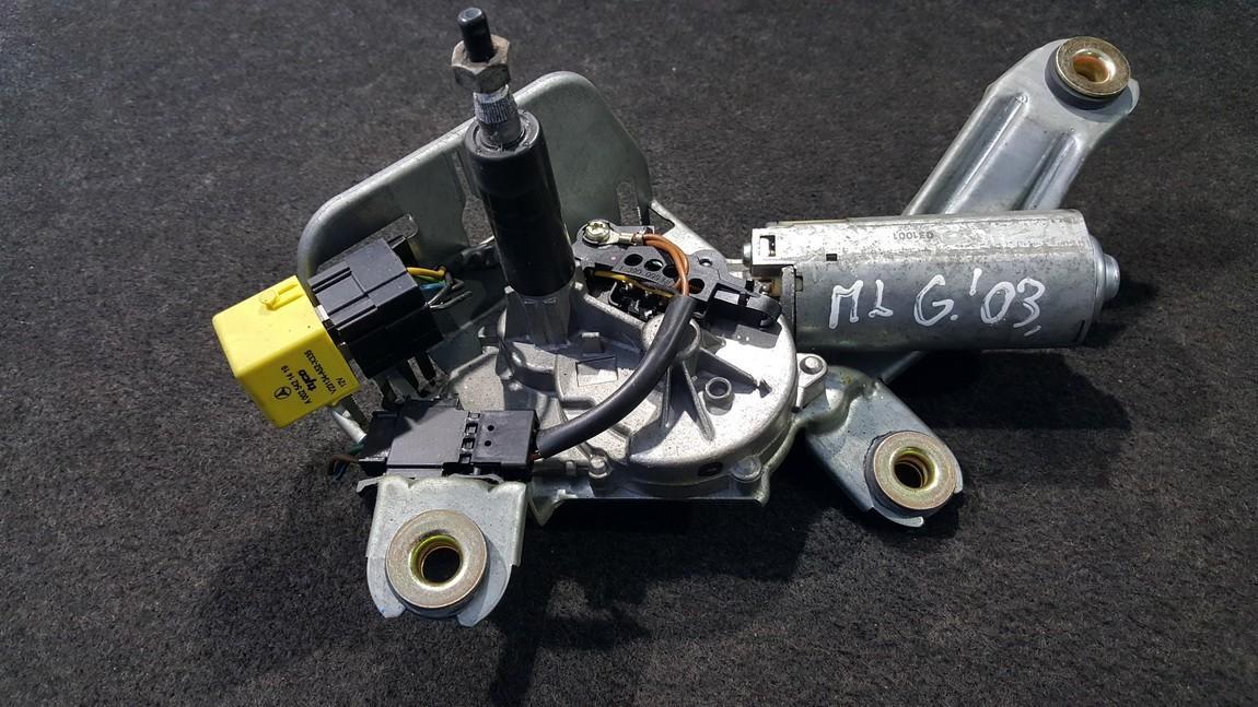 Galinio lango valytuvu varikliukas 1638203142 F006WM0611 Mercedes-Benz ML-CLASS 2007 3.5