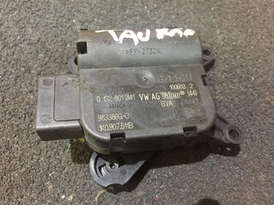 Peciuko sklendes varikliukas 0132801341 1k0907511b, 983386g-c Volkswagen TOURAN 2005 1.9