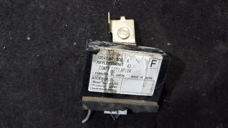 Kiti kompiuteriai ge4t675d2a 8f10a Mazda 323F 1999 1.6