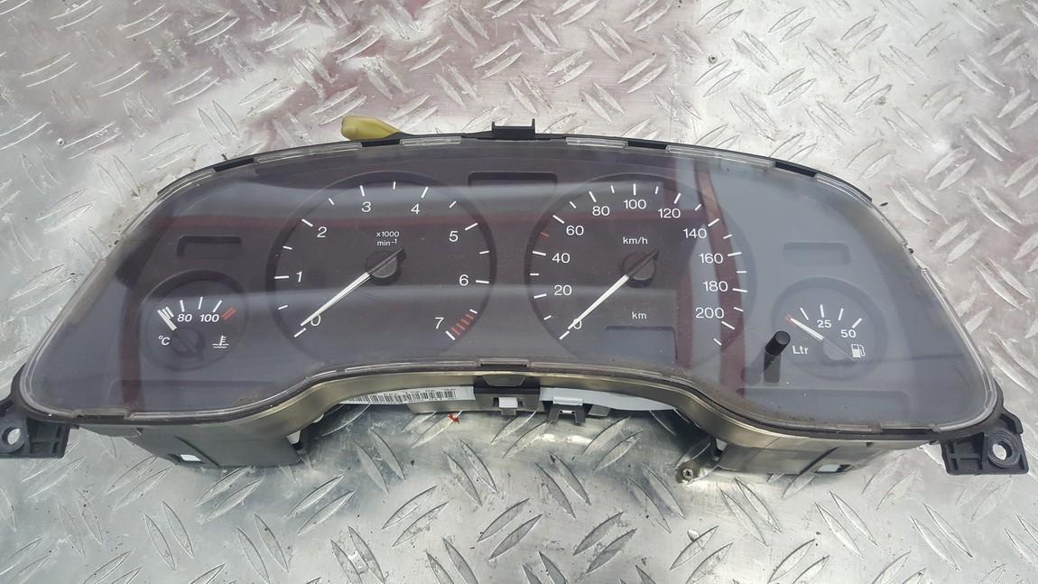 Щиток приборов - Автомобильный спидометр 90561454QN 110008830004, 130998 1 1209 01, 88311258, 87001342 Opel ASTRA 2002 1.7