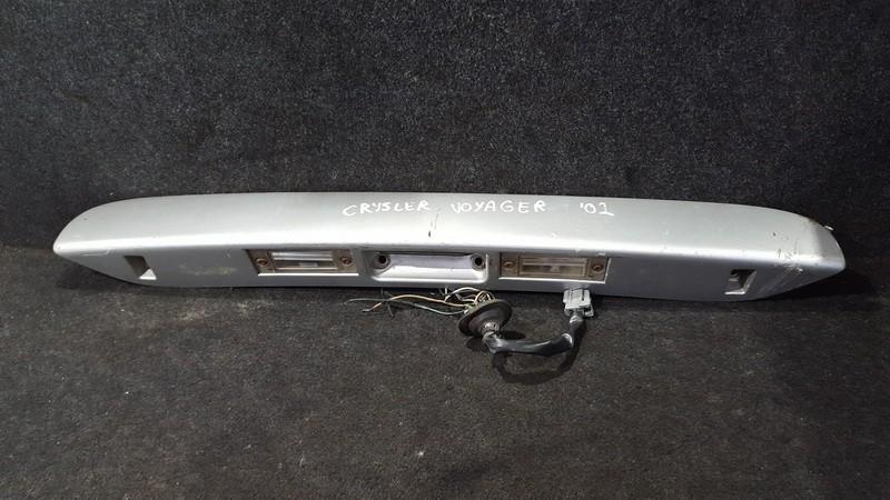 Galinio dangcio isorine apdaila (numerio apsvietimas) NENUSTATYTA n/a Chrysler VOYAGER 1999 3.3