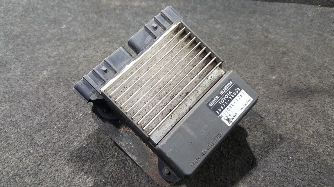 Блок управления впрыском 8987120050 89871-20050, 131000-1261, 1310001261 Toyota AVENSIS 2001 2.0