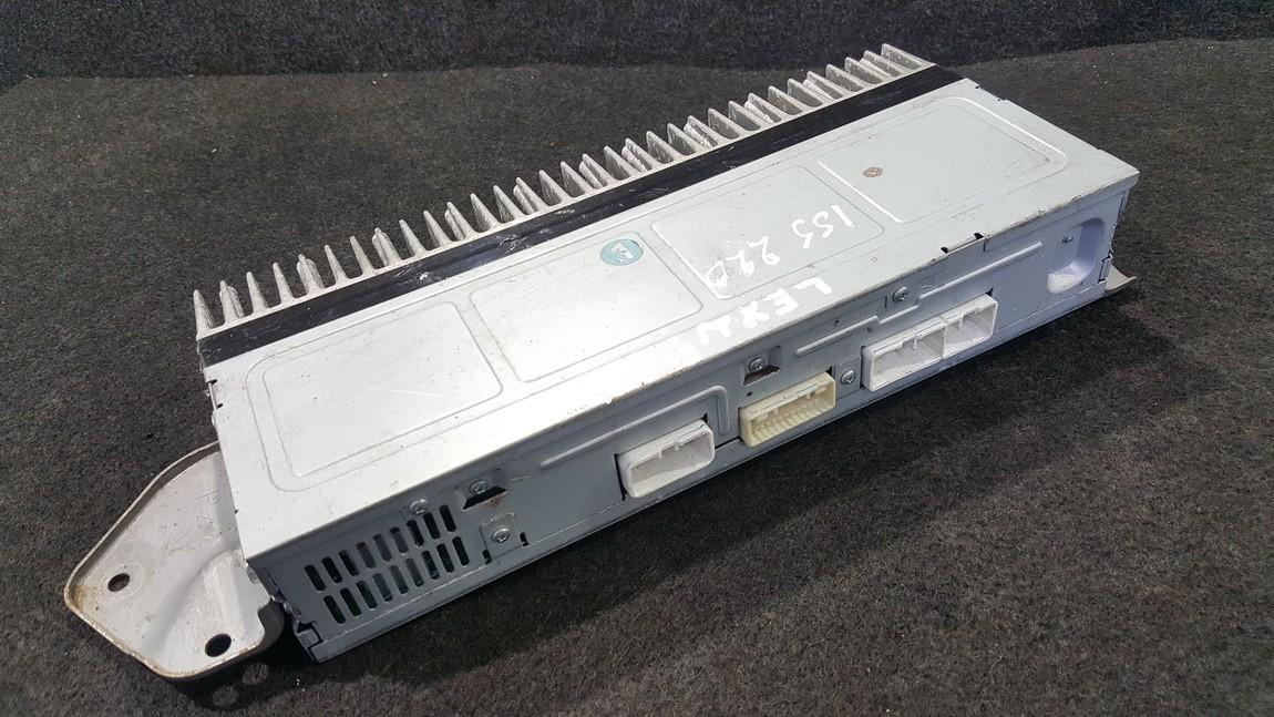 Audio amplifier Lexus IS - CLASS 2008    0.0 8628053110