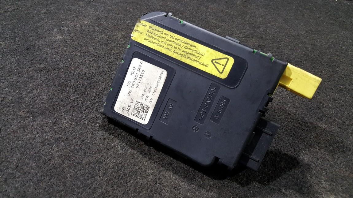 Kiti kompiuteriai 1K0953549A 05113510 Audi A3 2004 1.9