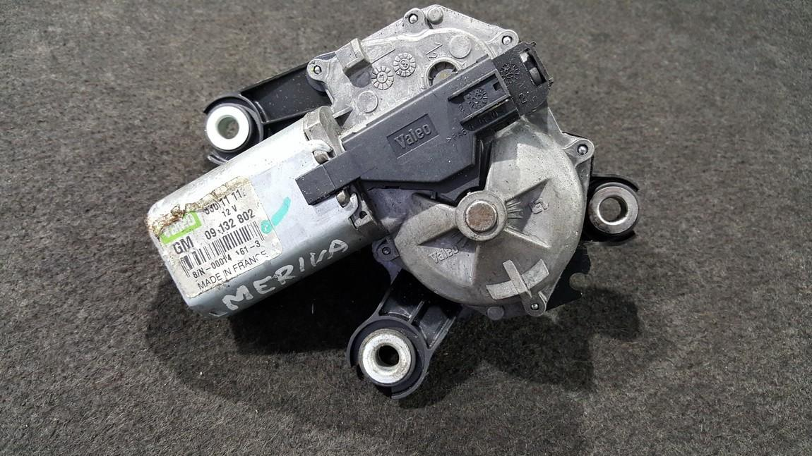 Rear wiper motor (Rear Screen Wiper Engine) Opel Meriva 2005    0.0 53011112