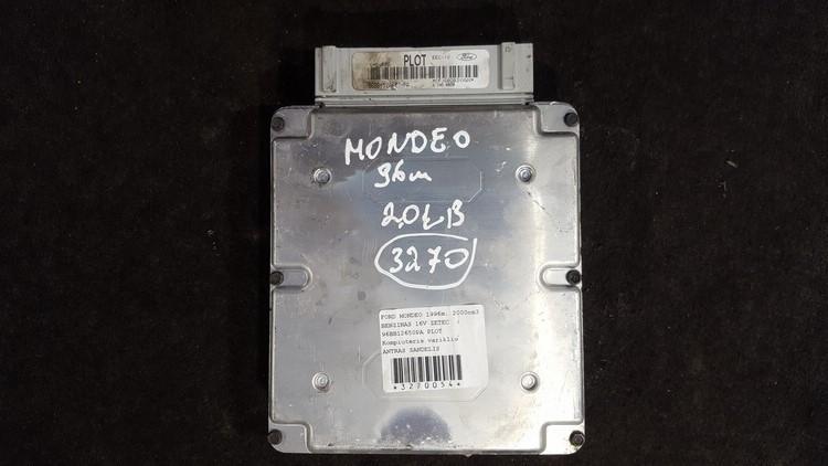 Variklio kompiuteris 96bb12650pa smd586, plot Ford MONDEO 2009 1.8