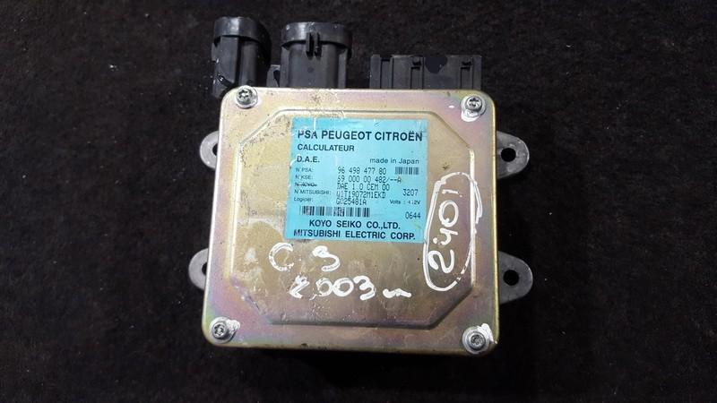 Power Steering ECU (steering control module) Citroen C3 2003    1.4 9649847780