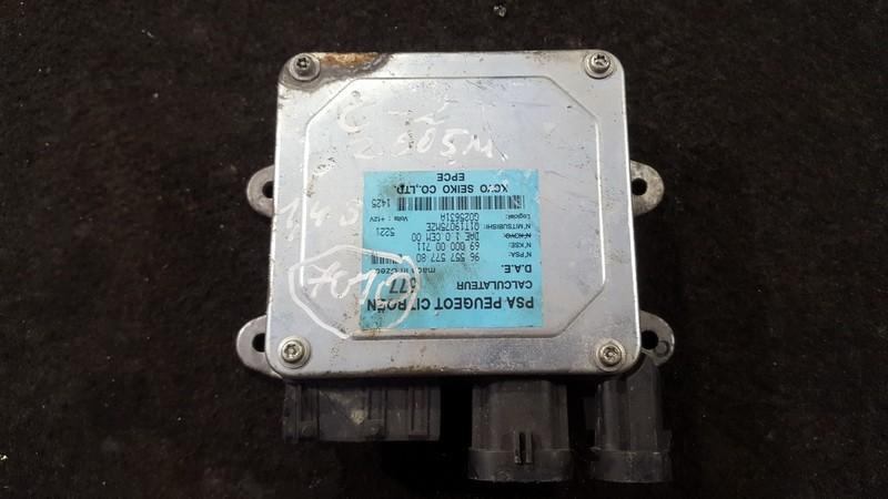Power Steering ECU (steering control module) Citroen C2 2005    1.4 9655757780