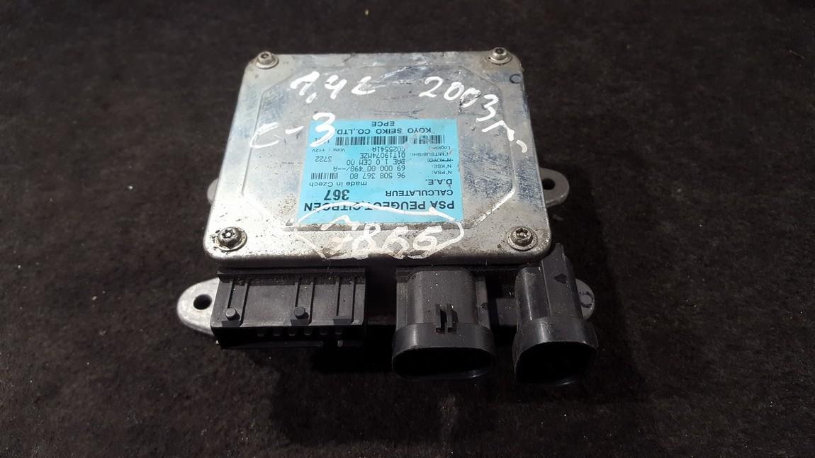 Power Steering ECU (steering control module) Citroen C2 2004    1.4 9650836780