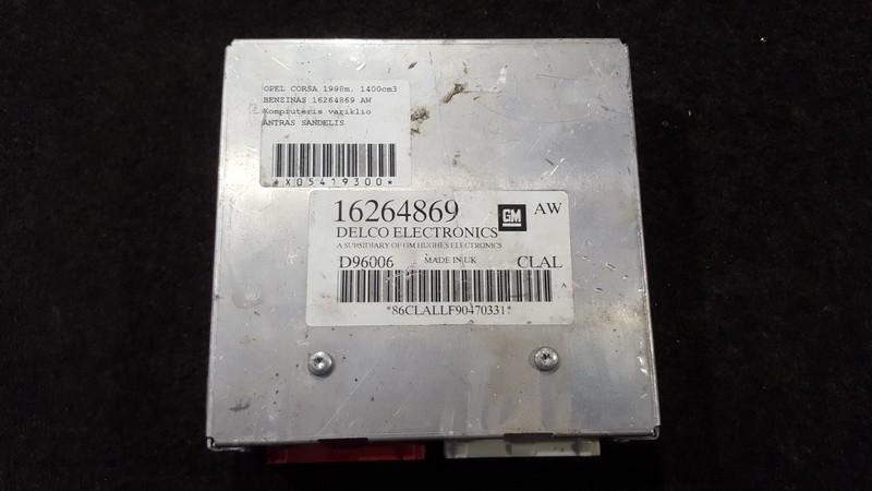 Блок управления двигателем 16264869 d96006 Opel CORSA 2008 1.3