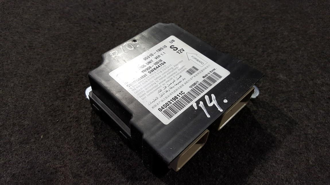 Airbag crash sensors module Kia Rio 2014    0.1 959101W510