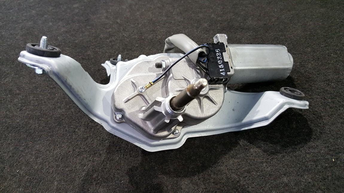 Rear wiper motor (Rear Screen Wiper Engine) Kia Rio 2014    1.1 987001W000