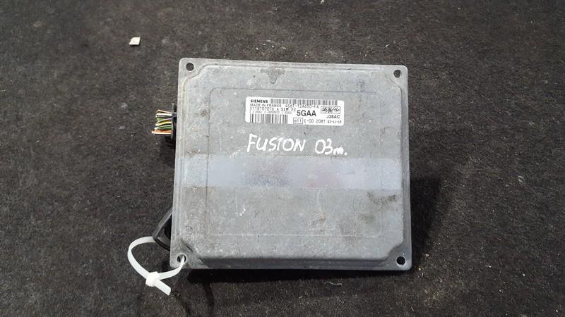 Variklio kompiuteris 4s6112a650fa 4s61-12a650-fa, s118107016, 5gaa Ford FUSION 2002 1.6