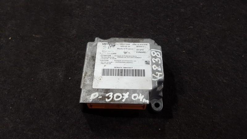 Airbag crash sensors module Peugeot 307 2004    2.0 9652712180