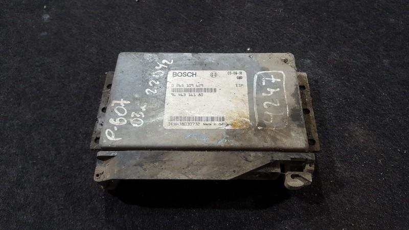 ESP PML BAS CONTROL UNIT ECU Peugeot 607 2003    2.2 0265109629
