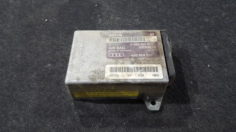 Airbag crash sensors module Audi 80 1995    2.0 0285001036