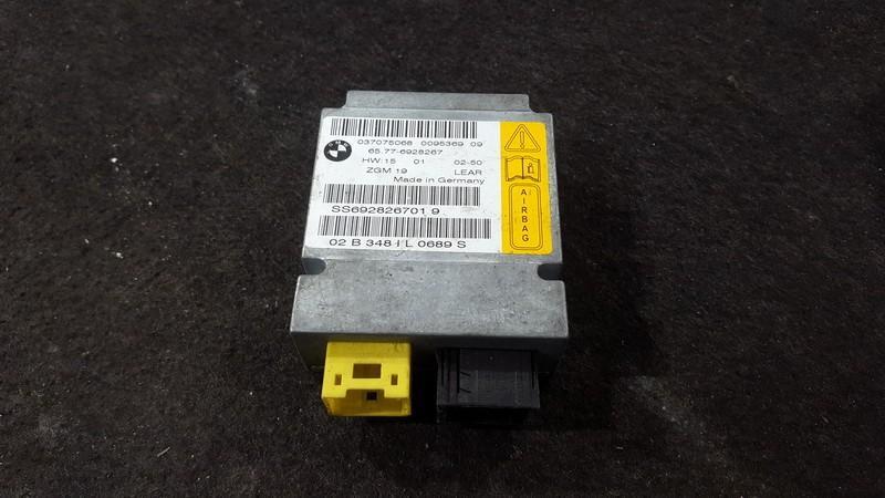 Airbag crash sensors module BMW 7-Series 2006    3.0 65776928267