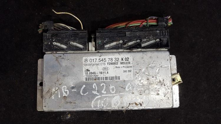ESP PML BAS CONTROL UNIT ECU Mercedes-Benz C-CLASS 1998    2.2 0175457832
