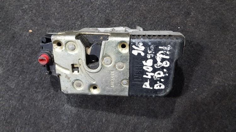 Door Lock Mechanism - rear right side nenustatytas nenustatytas Peugeot 406 1998 2.1