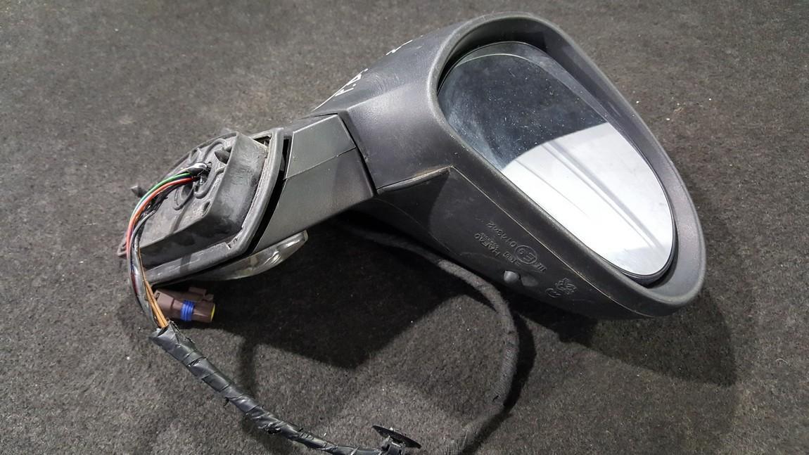 Exterior Door mirror (wing mirror) right side NENUSTATYTA NENUSTATYTA Peugeot 207 2009 1.4