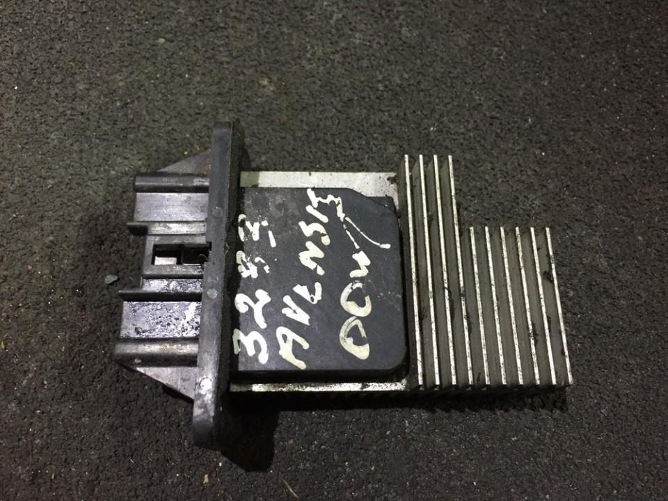 Heater Resistor (Heater Blower Motor Resistor) 4993002090 n/a Toyota AVENSIS 2010 2.0