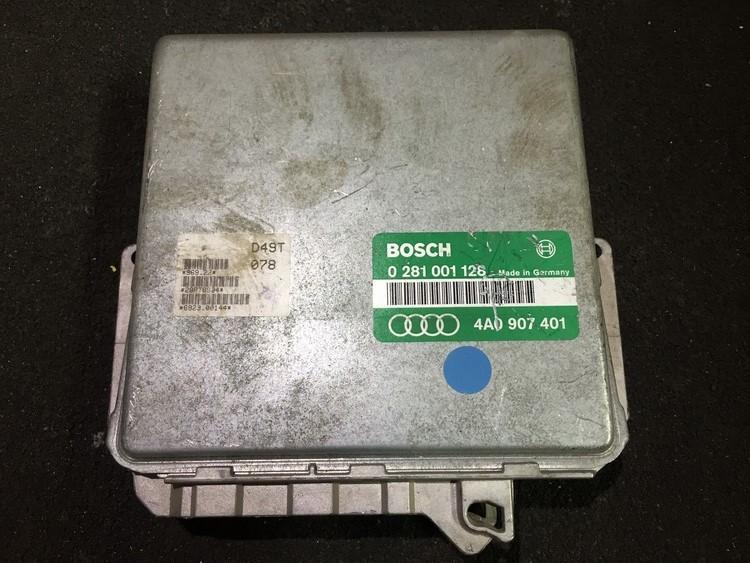 Variklio kompiuteris 0281001128 4a0907401 Audi A6 2008 2.0