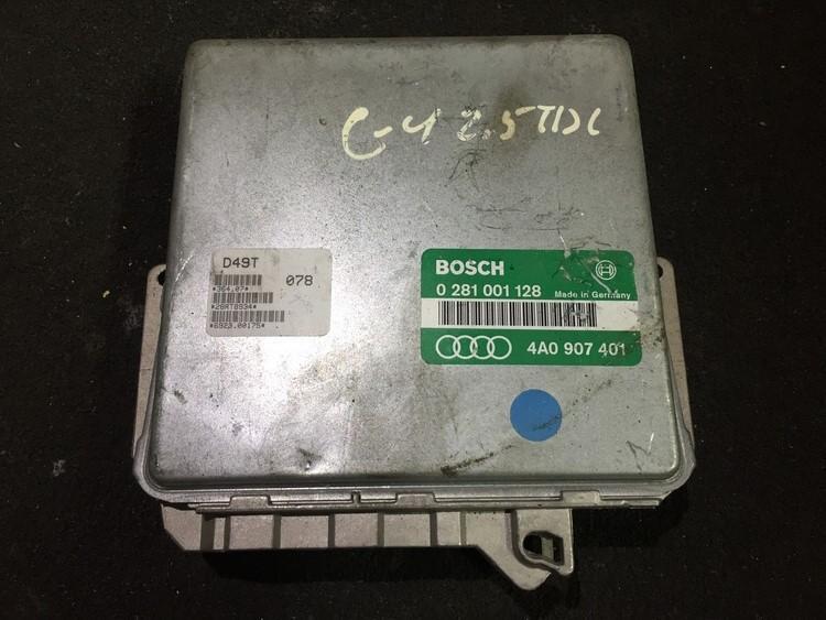 Variklio kompiuteris 0281001128 4a0907401 Audi A6 2001 2.5