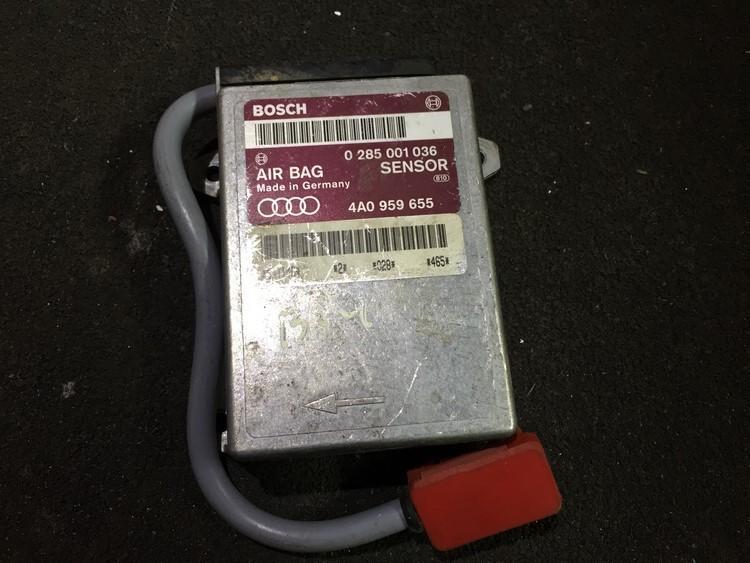 Airbag crash sensors module Audi 80 1994    1.9 0285001036