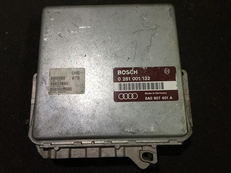 Variklio kompiuteris 0281001132 8a0907401a Audi 80 1993 2.0