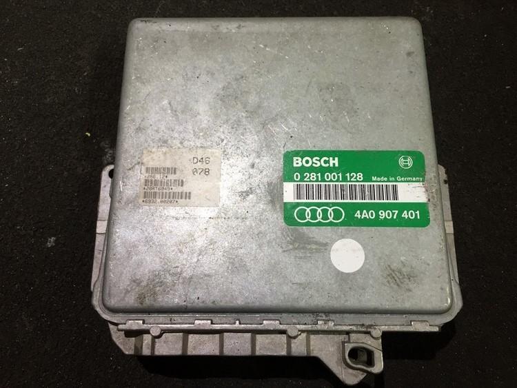 ECU Engine Computer (Engine Control Unit) 0281001128 4a0907401 Audi 80 1985 1.8