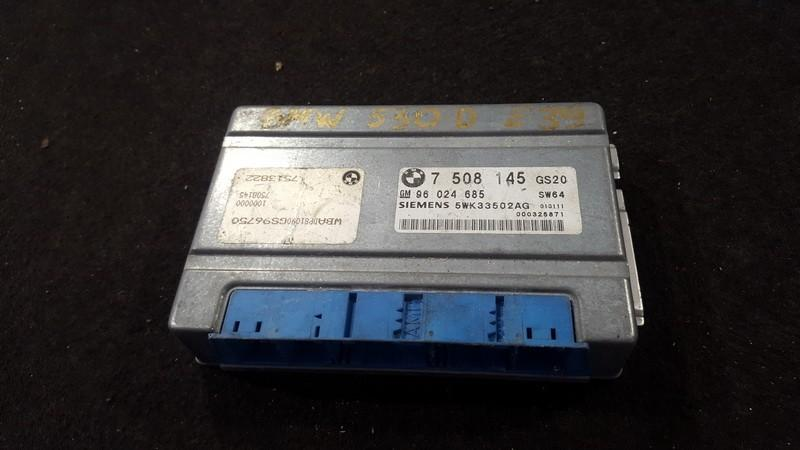 Transmission Computer  BMW 5-Series 2002    3.0 7508145