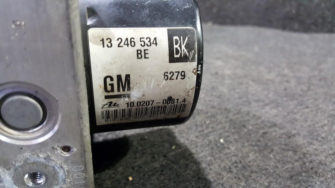 ABS Unit Opel Zafira 2007    1.9 13246534BK