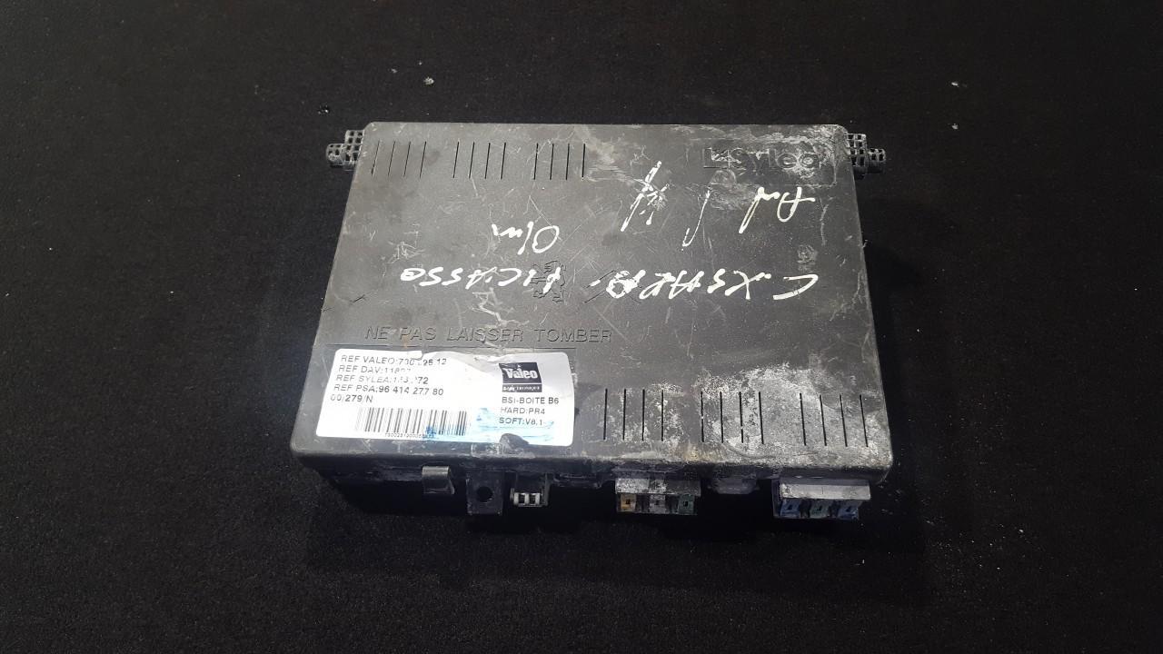 Fuse box  Citroen  Xsara Picasso, I 1999.12 - 2004.05