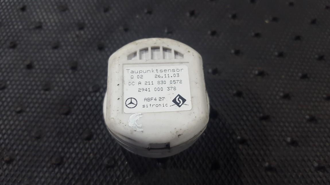 Salono temperaturos daviklis a2118300572 abf427 Mercedes-Benz E-CLASS 2002 2.2