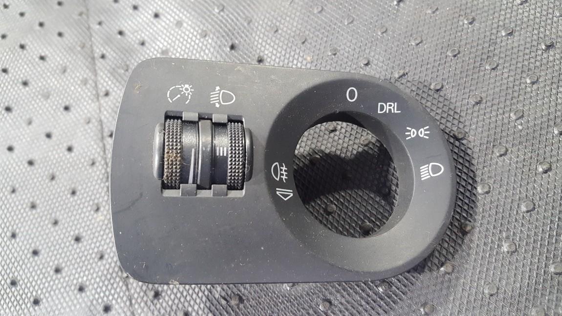 Zibintu aukscio reguliatoriaus mygtukas 8P0919094 8P0 919 094 Audi A3 1999 1.6