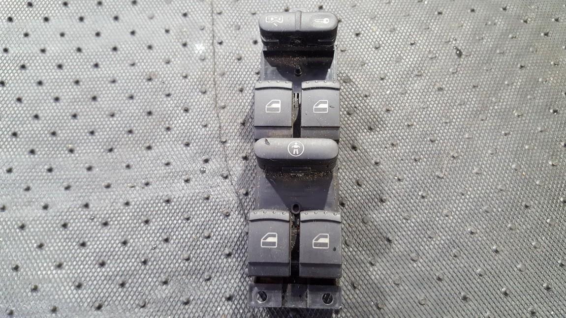 Stiklo valdymo mygtukas (lango pakeliko mygtukai) 1j4959857 1J4 959 857, 03 7550 00 Volkswagen GOLF 1994 1.8