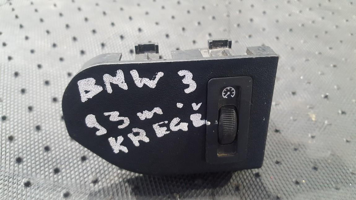 Dash Interior Light Dimmer Control (Switch Dimmer) 61.311387429 61.31-1 387 429, E 36 61 31 BMW 3-SERIES 2006 2.0
