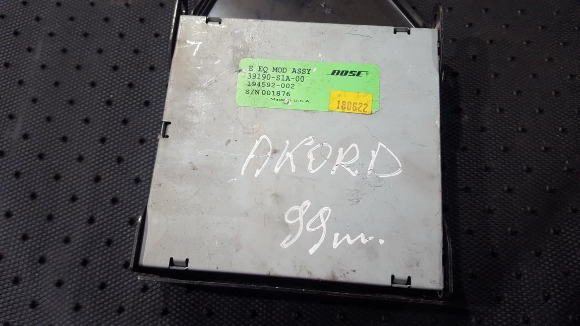 Kiti kompiuteriai 39190S1A00 194592-002 Honda ACCORD 2010 2.2