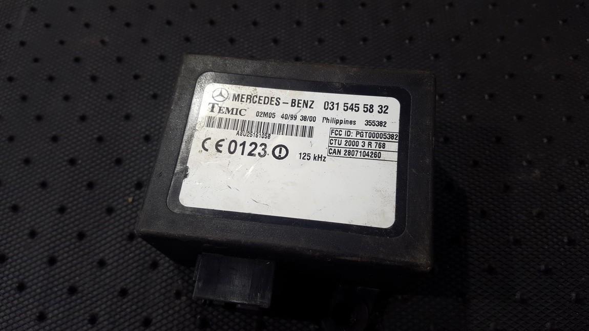 Imobilaizerio kompiuteris 0315455832 355382 Mercedes-Benz SPRINTER 2005 2.2