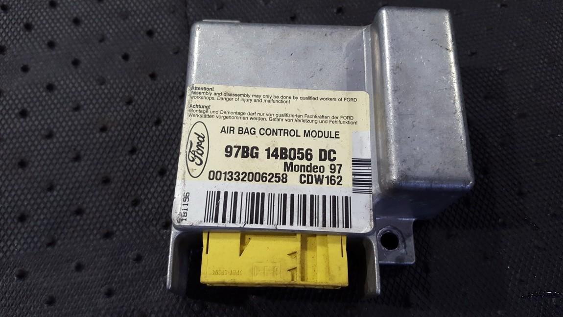 Airbag crash sensors module 97BG14B056DC 97BG 14 B056 DC, 00 1332006258 Ford MONDEO 2001 2.0