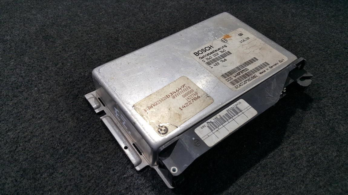 Transmission Computer  BMW  5-Series, E39 1995.11 - 2003.06