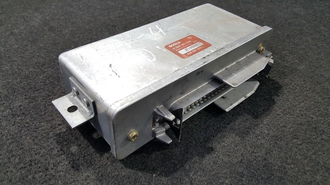 Variklio kompiuteris 0265100056 4A0907379A Volkswagen PASSAT 1999 1.9
