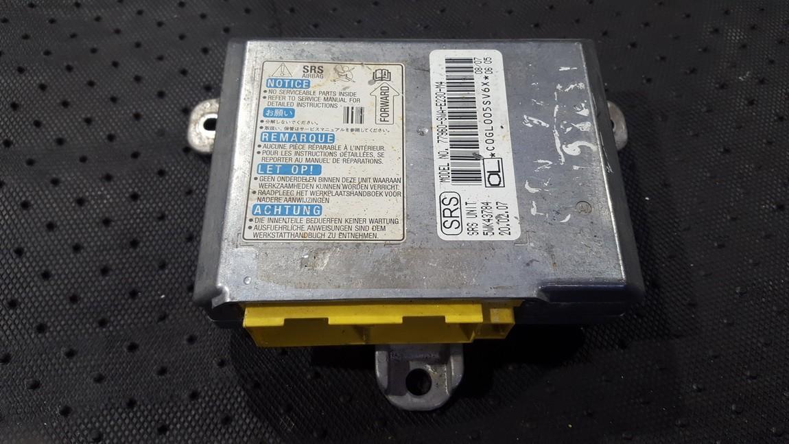 Блок управления AIR BAG  77960SWAE230M4 77960-SWA-E230-M4, 5WK43784 Honda CR-V 2003 2.0