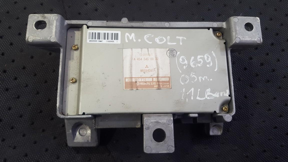 Steering Module (STEERING WHEEL CONTROL ECU) Mitsubishi Colt 2005    1.3 A4545450032